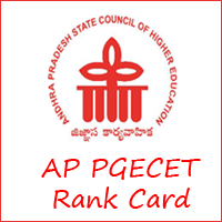 AP PGECET Rank Card