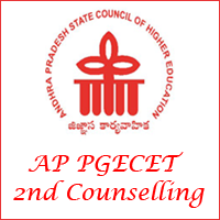 AP PGECET 2nd Counselling