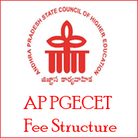 AP PGECET Fee Structure
