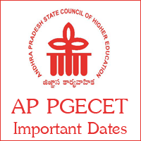 AP PGECET Important Dates