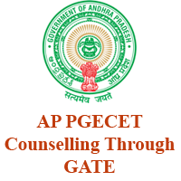 AP PGECET Counselling Through GATE